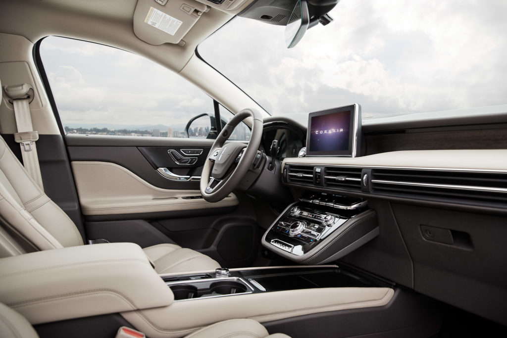 10 Best Car Interiors: 2020 Lincoln Corsair - West Point Lincoln of Sugar Land - Houston, TX